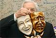 Юрий Любимов на праздновании 40-летия Театра на Таганке, 2004 год.