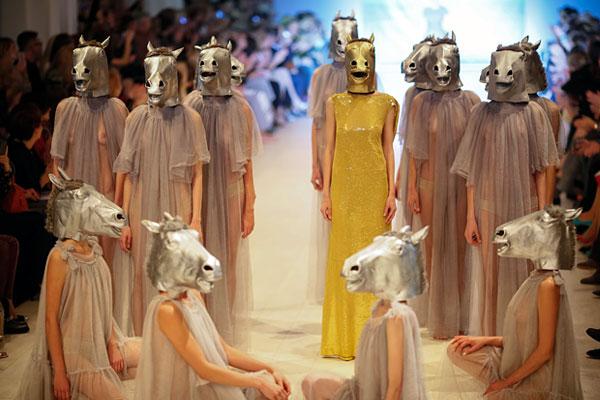 Презентация коллекции дизайнера Виктории Гресь.