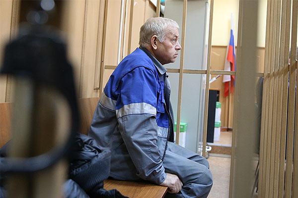 Владимир Мартыненко на скамье подсудимых.