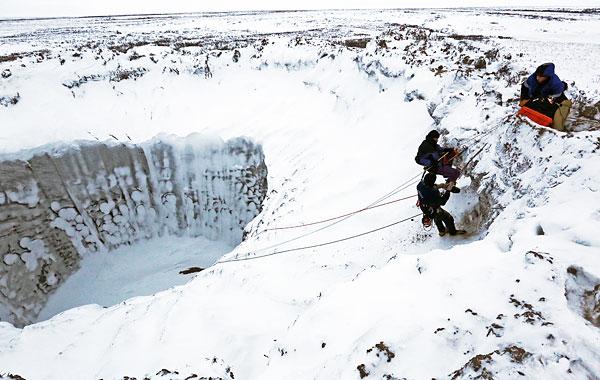 В апреле 2015 года планируется еще одна экспедиция, в рамках которой будут проводиться геофизические и геологические исследования прилегающей территории кратера.