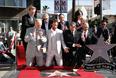 На церемонии также присутствовали режиссер Кристофер Нолан (крайний слева) и ассистент по подбору актеров Дон Филлипс.