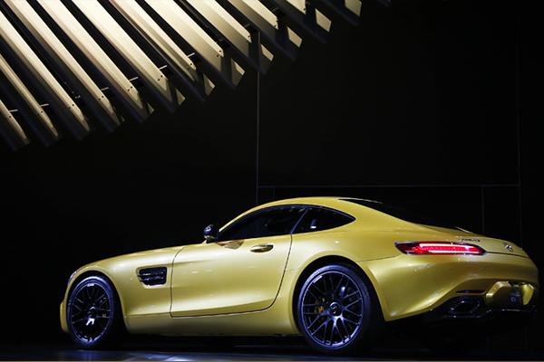 Mercedes AMG GT S.