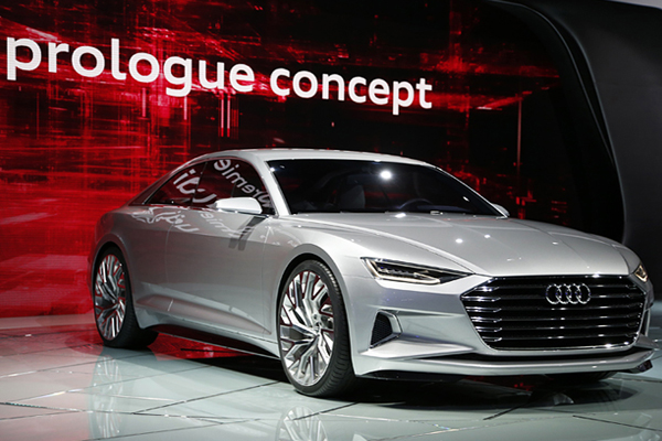 Концепт-кар Audi Prologue.