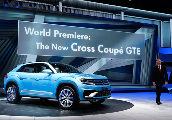 Предсерийный Volkswagen Cross Coupe GTE