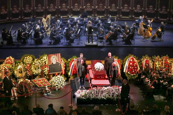 Церемония прошла на исторической сцене Большого театра
