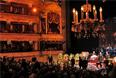 Церемония прощания на исторической сцене Большого театра в Москве