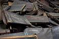 Личные вещи заключенных, сохранившиеся на территории бывшего лагеря Аушвиц