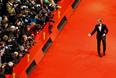 Актер Кристофер Вальц на церемонии открытия 65-го Берлинского кинофестиваля