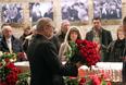 Сопредседатель партии РПР-ПАРНАС Михаил Касьянов во время прощания с Борисом Немцовым