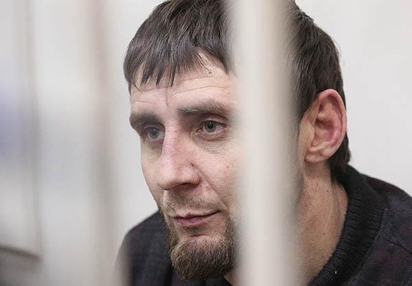Заур Дадаев, подозреваемый в убийстве Немцова