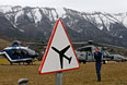 Поисково-спасательные подразделения жандармерии Франции недалеко от места крушения самолета А320