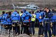 Операция по поиску разбившегося во Франции A320