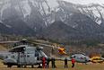 Спасательные вертолеты военно-воздушных сил и службы гражданской безопасности на юго-востоке Франции