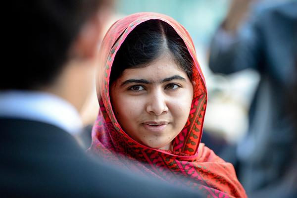 8 место. Правозащитница Малала Юсуфзаи - 1,6%
