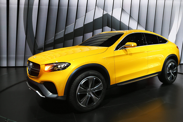 Концепт Mercedes Benz GLC Coupe