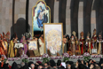 Церемония канонизации жертв геноцида армян в Первопрестольном Святом Эчмиадзине
