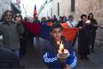 Траурный марш членов армянской общины в Старом городе Иерусалима