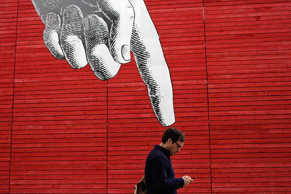 Граффити в центре Лондона