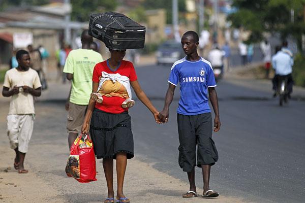 Такие дела. Бужумбура, Бурунди.