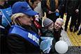 Мэр Москвы Сергей Собянин во время шествия профсоюзов на Красной площади