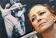"""Майя Плисецкая на презентации альбома своих фотографий под названием """"Аве Майя"""", которая состоялась в Московском Доме книги на Новом Арбате. 2005 год."""