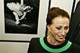 """Майя Плисецкая во время открытия выставки """"Майя Плисецкая"""", посвященной юбилею балерины, в ЦВЗ """"Манеж"""". 2005 год."""