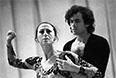 Майя Плисецкая и Александр Богатырев во время репетиции. 1979 год.