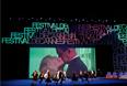 """Танцевальный номер по мотивам фильма Альфреда Хичкока """"Головокружение"""" на церемонии открытия кинофестиваля"""