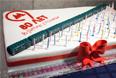 Праздничный торт в честь юбилея Московского метрополитена
