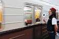 """Во время торжественного запуска """"парада поездов"""" на Кольцевой линии Московского метрополитена"""