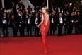 Российская телеведущая, актриса и модель Виктория Боня на красной дорожке Каннского кинофестиваля