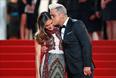 Британский певец Робби Уильямс с женой Айдой Филд на красной дорожке Каннского кинофестиваля