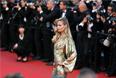 Российская топ-модель Наташа Поли на Каннском кинофестивале
