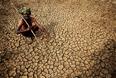 В сельской местности опустели рынки и дороги, даже привычные к жаре местные жители с трудом переносят нынешнюю аномалию