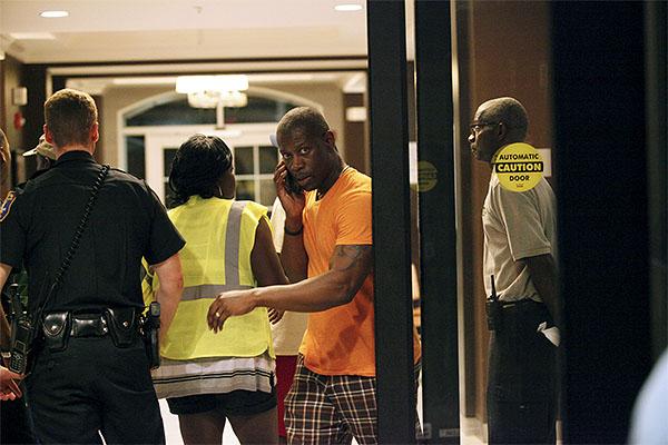 Убийце удалось скрыться с места преступления, полиция ведет поиск преступника.