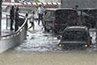 В Адлерском и Хостинском районах вода затопила сотни домов и первый этаж здания аэропорта Сочи. Отключена Адлерская ТЭЦ и как следствие - водоснабжение