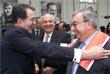 Глава Еврокомиссии Романо Проди (слева) приветствует  Евгения Примакова перед саммитом Россия – ЕС, май 2000 год