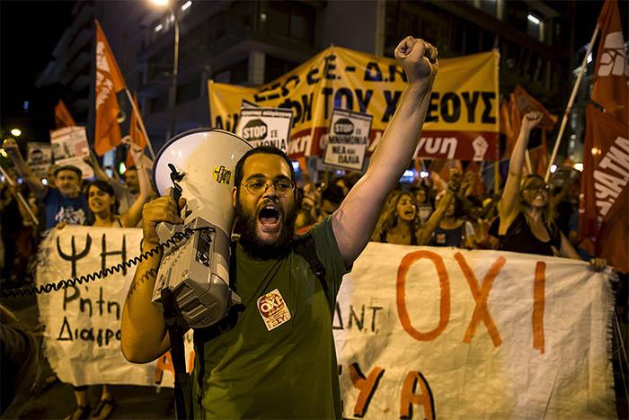 """Глава Еврогруппы и министры финансов еврозоны Йерун Дейсселблум назвал результат референдума в Греции """"очень печальным"""" для будущего страны"""