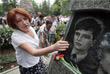 Возложение цветов к мемориалу погибших моряков в Севастополе