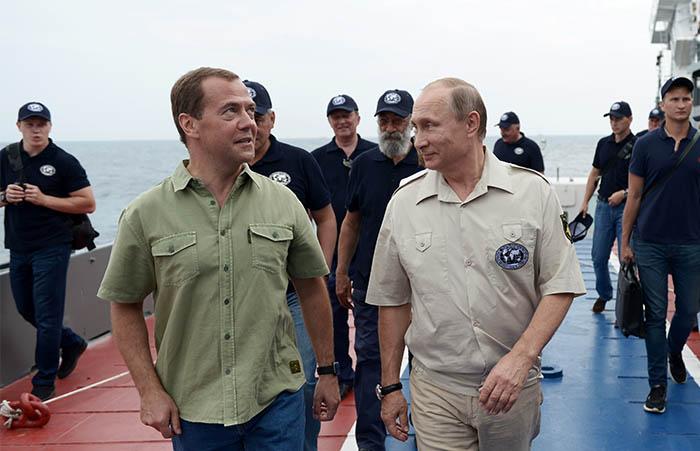 Владимир Путин неоднократно принимал участие в экспедициях РГО