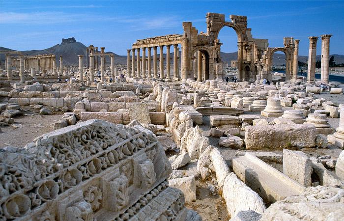 Основная масса ее культурных ценностей принадлежит к I-II векам нашей эры, когда Сирия была частью Римской империи