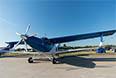 ТВС-2-ДТ новый многоцелевой российский самолет. В конструкции широко применены композитные материалы. Пока что летает с двигателем Honeywell.