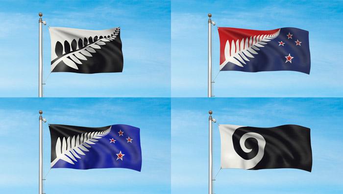 Жителям Новой Зеландии не хватило предложенных вариантов нового флага