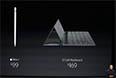 Про стилус уже как-то высказывался основатель компании, а вот встроенная в Smartcover клавиатура напоминает MS Surface