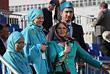 Гости на открытии Московской соборной мечети