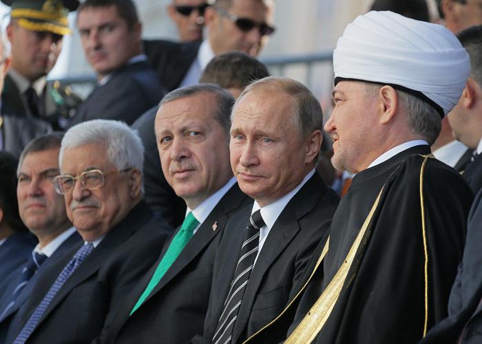 Открытие соборной мечети в Москве