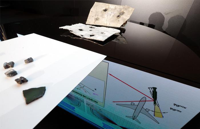 """Осколки поражающих элементов, полученные в ходе эксперимента концерна """"Алмаз-Антей"""""""