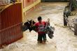 Несмотря на то, что тайфун слабеет, что позволило жителям в некоторых районах начать разбирать завалы и восстанавливать линии электропередачи, во многих частях страны сохраняется угроза схода оползней.