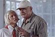 """2005 год. Актриса Лина Миримская и режиссер Никита Михалков на съемочной площадке фильма """"Утомленные солнцем-2""""."""
