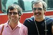 1981 год. Никита Михалков (справа) и американский продюсер Точи Билл на кинофестивале в Москве.